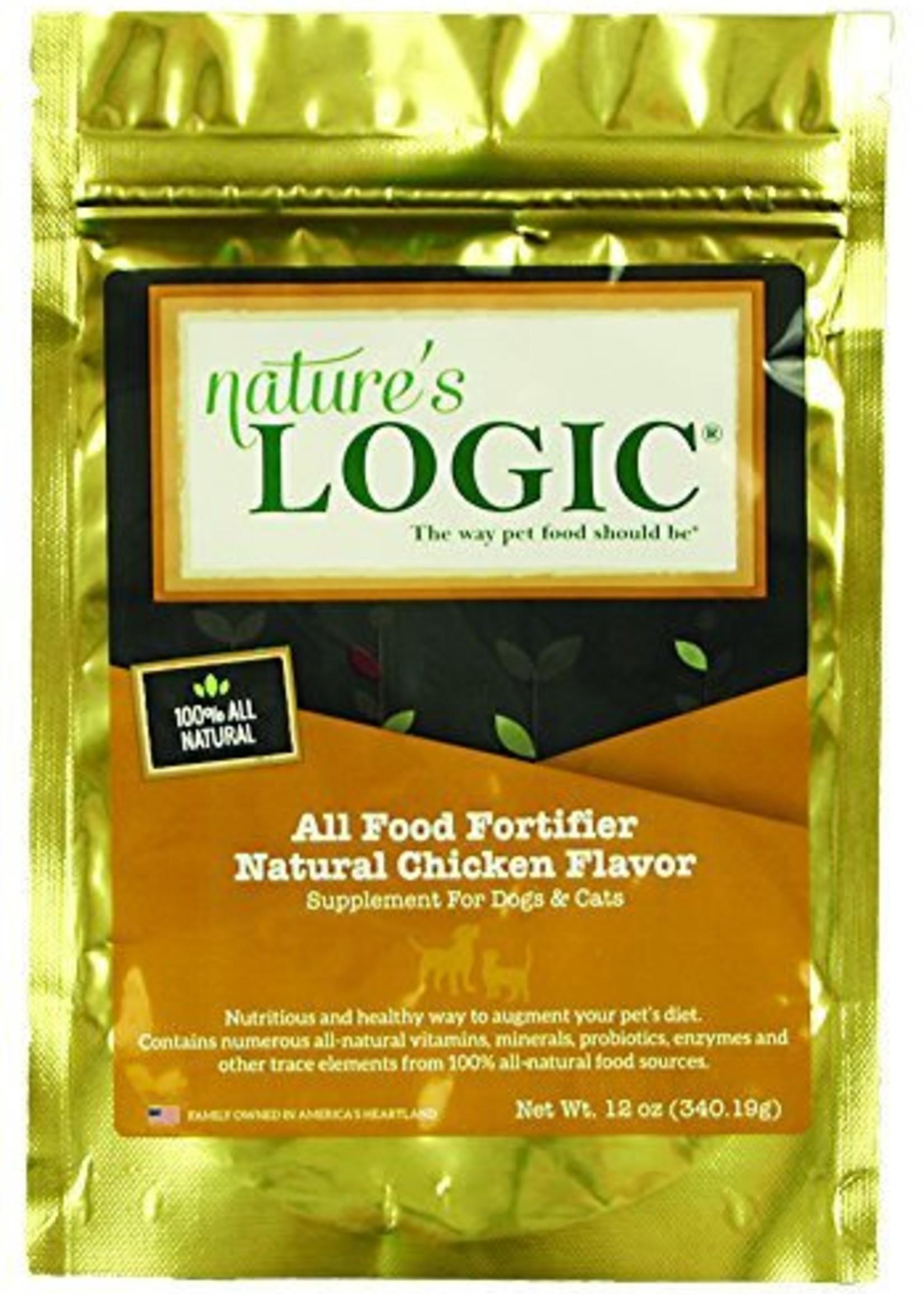 Natures Logic Nature's Logic Food Fortifier K9/Fel 12oz