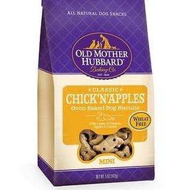 Wellpet LLC Old Mother Hubbard Crunchy Classic Mini Chick'N'Apples 20 oz.