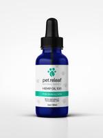 Pet Releaf Pet Releaf CBD Hemp Oil 100mg CBD Small 1oz