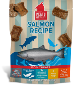 Plato Pet Treats - KDR PLATO \ Salmon Strips 18oz.
