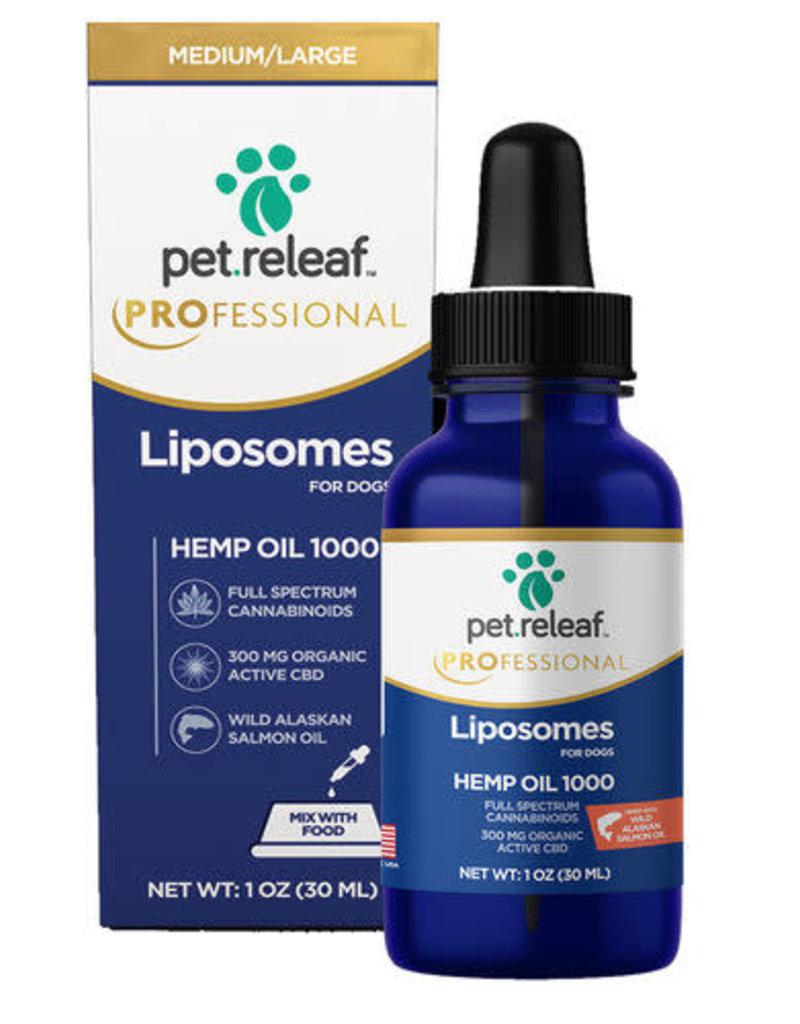 Pet Releaf Pet Releaf 1000mg (300mg CBD) liposome hemp oil