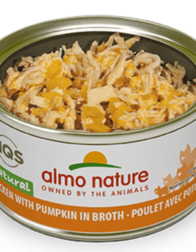 Almo Nature Almo Nature Cat Can HQS Natural Chicken with Pumpkin 2.5oz