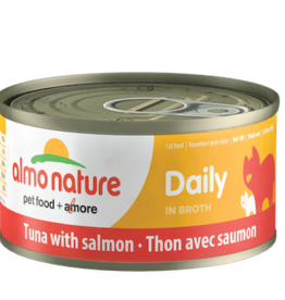 Almo Nature Almo Nature Cat Can Daily Tuna and Salmon 2.5oz