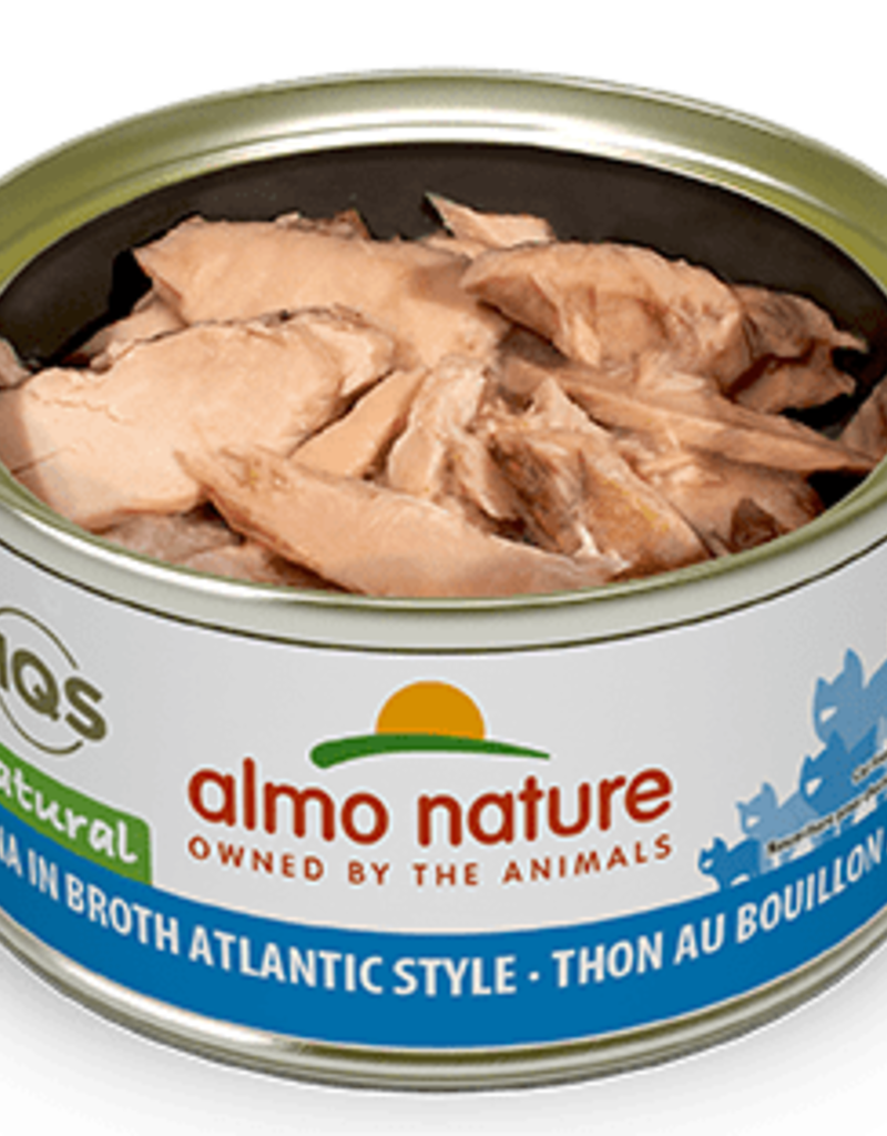 Almo Nature Almo Nature Cat Can HQS Natural Atlantic Tuna 2.5oz