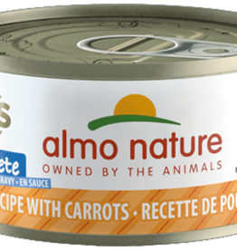 Almo Nature Almo Nature Cat Can HQS Complete Chicken with Carrots 2.5oz