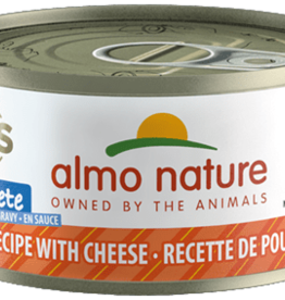 Almo Nature Almo Nature Cat Can HQS Complete Chicken with Cheese  2.5oz