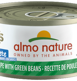Almo Nature Almo Nature Cat Can HQS Complete Chicken with Green Beans 2.5oz