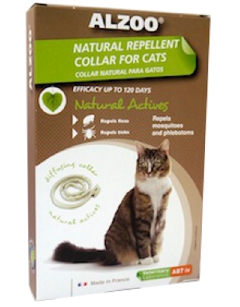 AB7 America Inc. ALZOO Natural Repellent Collar for Cats