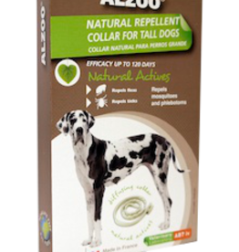 AB7 America Inc. ALZOO Natural Repellent Collar for Dogs (Large)