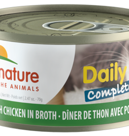 Almo Nature Almo Nature Cat Can Daily Complete Tuna with Chicken 2.4oz