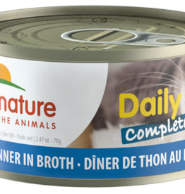Almo Nature Almo Nature Cat Can Daily Complete Tuna in Broth 2.4oz