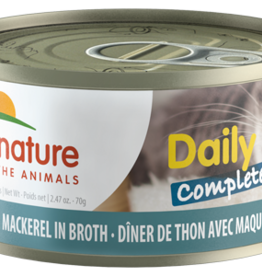 Almo Nature Almo Nature Cat Can Daily Complete Tuna with Mackerel 2.4oz