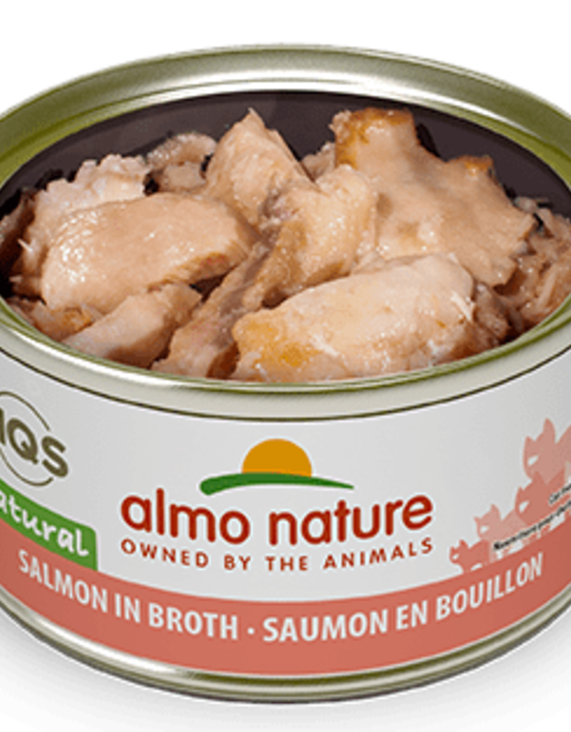 Almo Nature Almo Nature Cat Can HQS Natural Salmon 2.5oz