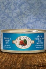 Fromm Family Foods, LLC Fromm Cat Can 4 Star Seafood and Shrimp Pate 5.5 oz