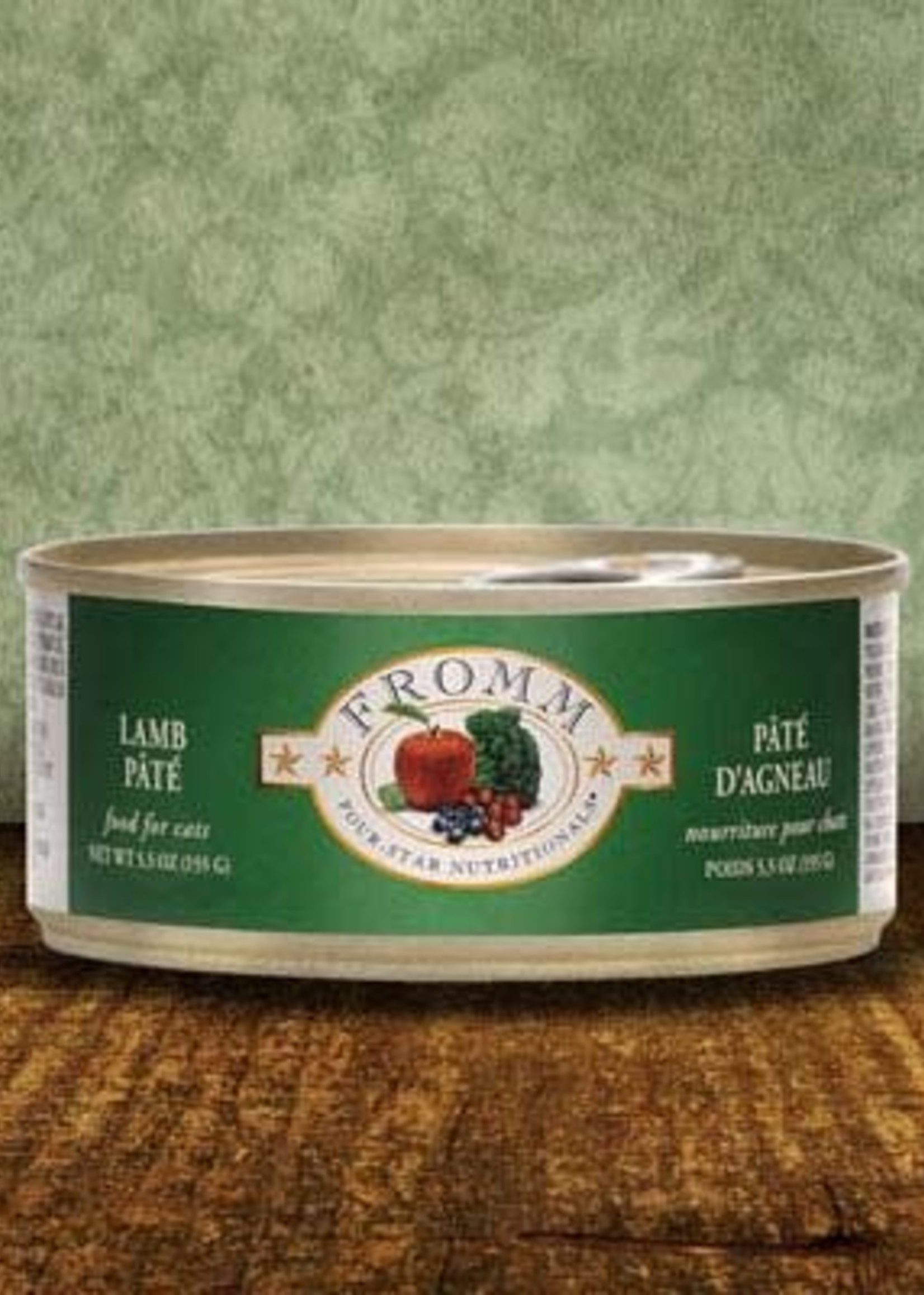 Fromm Family Foods, LLC Fromm Cat Can 4 Star Lamb Pate 5.5 oz