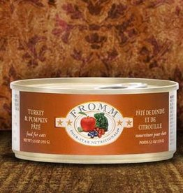 Fromm Family Foods, LLC Fromm Cat Can 4 Star Turkey and Pumpkin 5.5 oz
