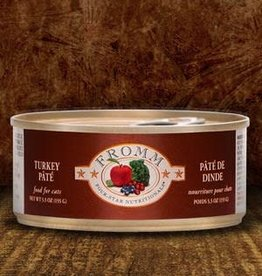 Fromm Family Foods, LLC Fromm Cat Can 4 Star Turkey Pate 5.5 oz
