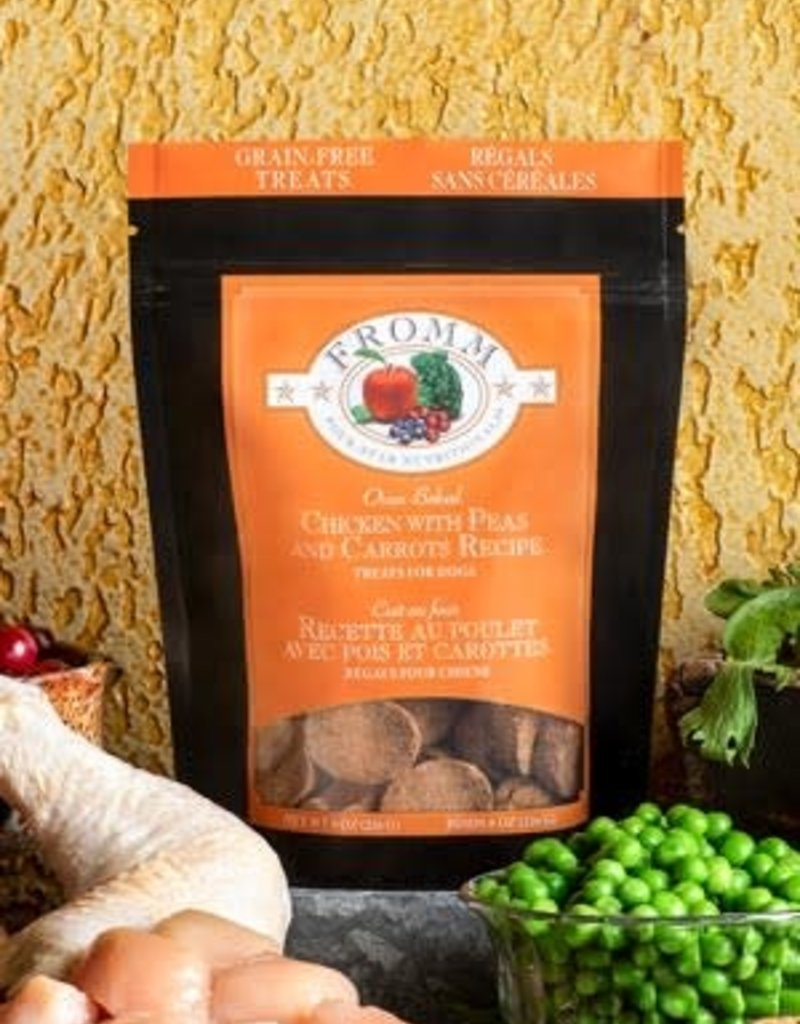 Fromm Family Foods, LLC Fromm Dog Biscuit 4 Star Grain Free Chicken with Peas and Carrots 8 oz