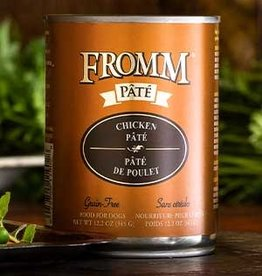 Fromm Family Foods, LLC Fromm Dog Can Pate Chicken 12.2 oz