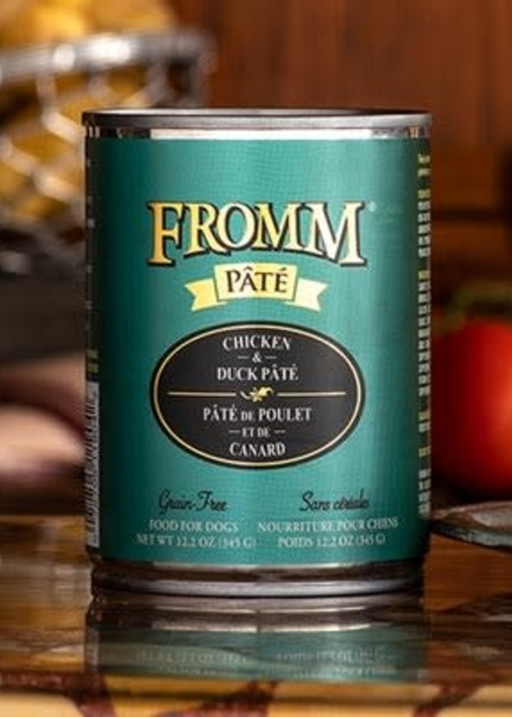 Fromm Family Foods, LLC Fromm Dog Can Pate Chicken and Duck 12.2 oz