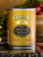 Fromm Family Foods, LLC Fromm Dog Can Pate Chicken and Sweet Potato 12.2 oz