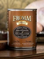 Fromm Family Foods, LLC Fromm Dog Can Pate Turkey, Duck, and Sweet Potato 12.2 oz
