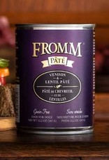 Fromm Family Foods, LLC Fromm Dog Can Pate Venison and Lentil 12.2 oz