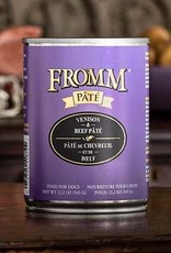 Fromm Family Foods, LLC Fromm Dog Can Pate Venison and Beef 12.2 oz