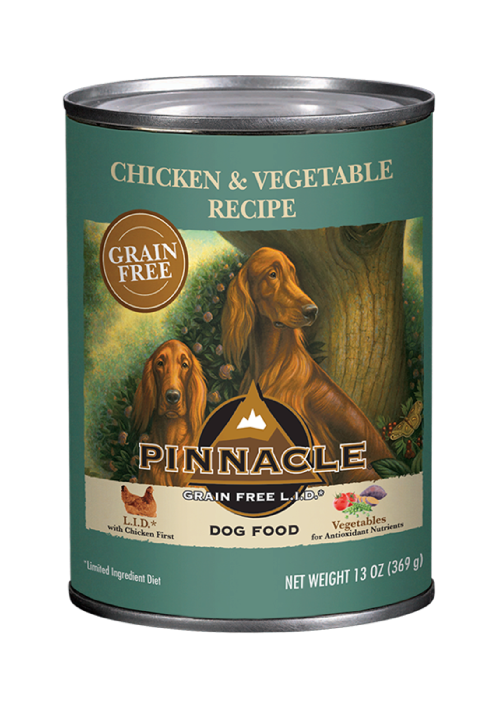 Pinnacle by Breeder's Choice Pinnacle Dog Can Chicken and Vegetable 13 oz