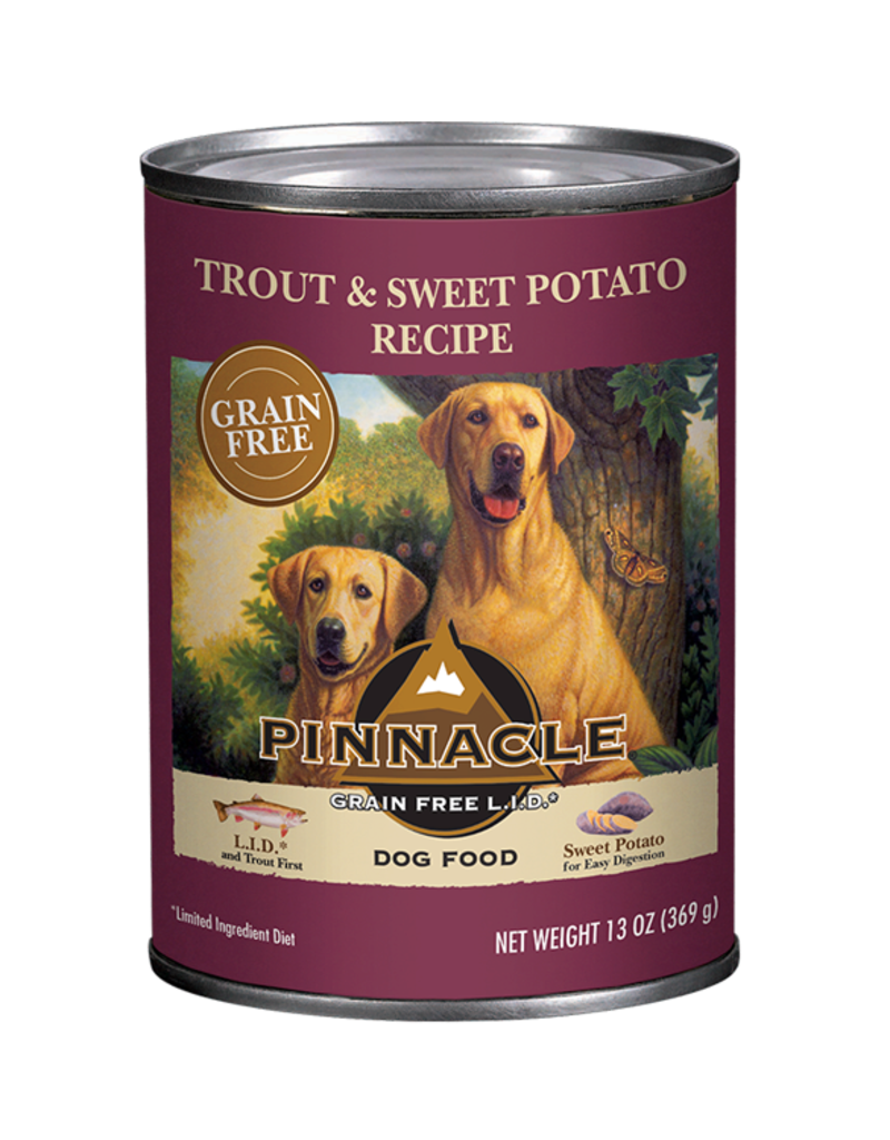 Pinnacle by Breeder's Choice Pinnacle Dog Can Trout and Sweet Potato 13 oz
