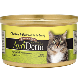 Breeder's Choice Pet Foods, Inc. AvoDerm Cat Can Chicken and Duck 3 oz