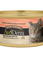 AvoDerm by Breeder's Choice AvoDerm Cat Can Salmon in Consomme 3 oz
