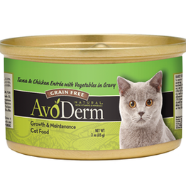 AvoDerm by Breeder's Choice AvoDerm Cat Can Tuna and Chicken 3 oz