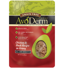 AvoDerm by Breeder's Choice AvoDerm Cat Pouch Chicken and Duck 3 oz