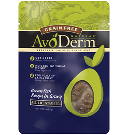 AvoDerm by Breeder's Choice AvoDerm Cat Pouch Ocean Fish 3 oz