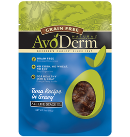 AvoDerm by Breeder's Choice AvoDerm Cat Pouch Tuna Fel 3 oz