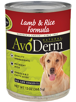 AvoDerm by Breeder's Choice AvoDerm Dog Can Lamb and Rice 13.2 oz