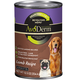 AvoDerm by Breeder's Choice AvoDerm Dog Can Revolving Lamb 12.5 oz