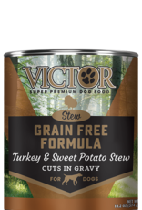 Victor/Mid America Pet Victor Dog Can Stew Turkey and Sweet Potato 13 oz