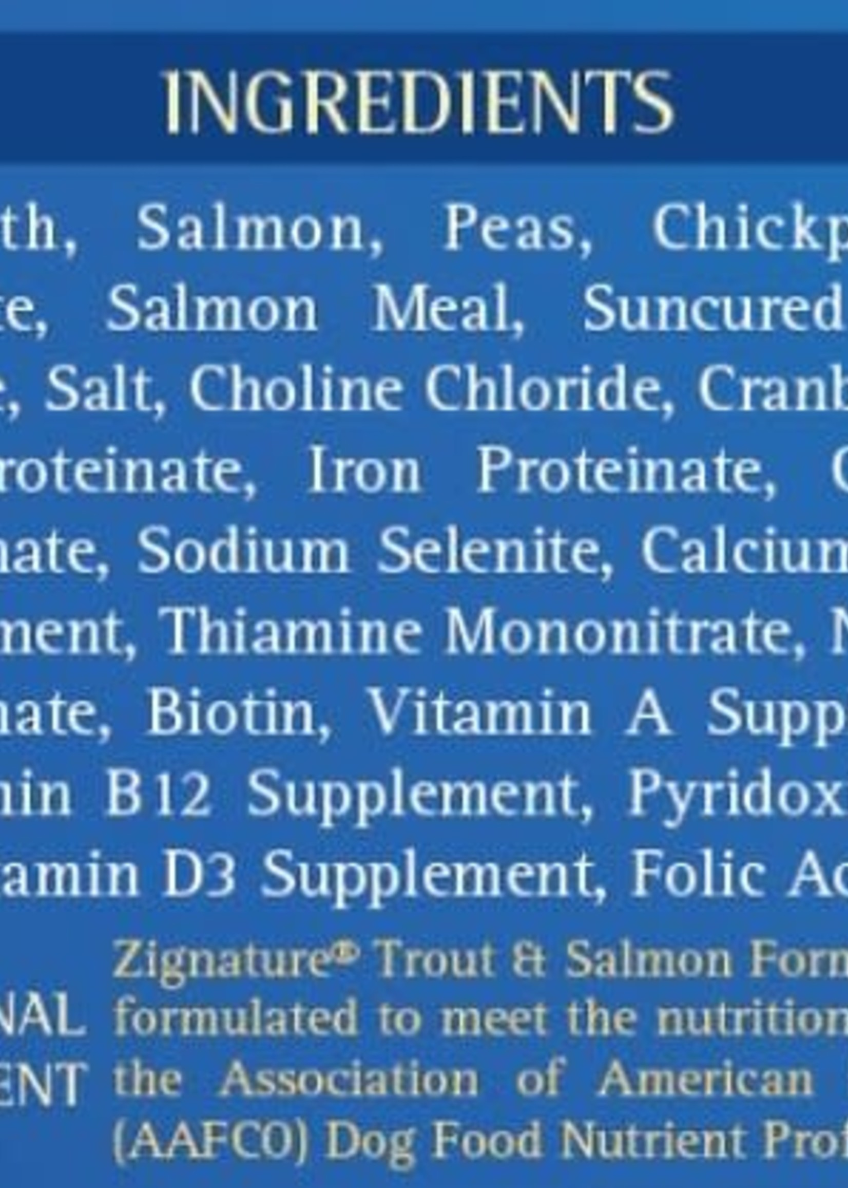 Zignature Zignature Dog Can Trout and Salmon 13 oz