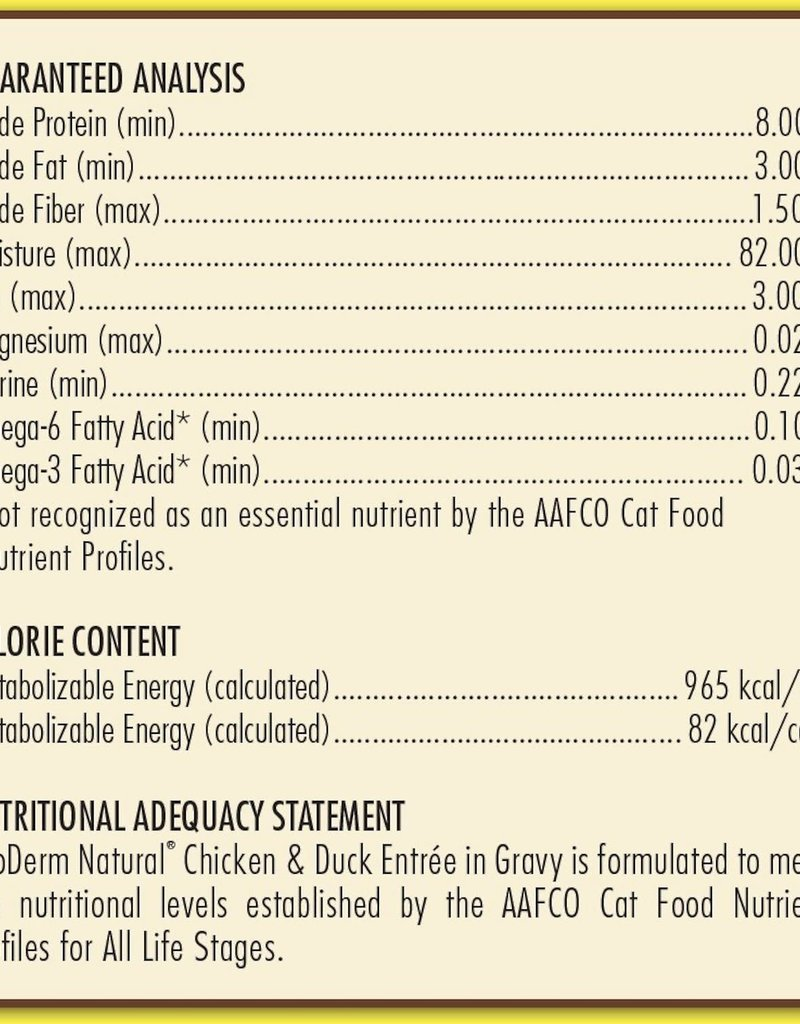 AvoDerm by Breeder's Choice AvoDerm Cat Can Chicken and Duck 3 oz