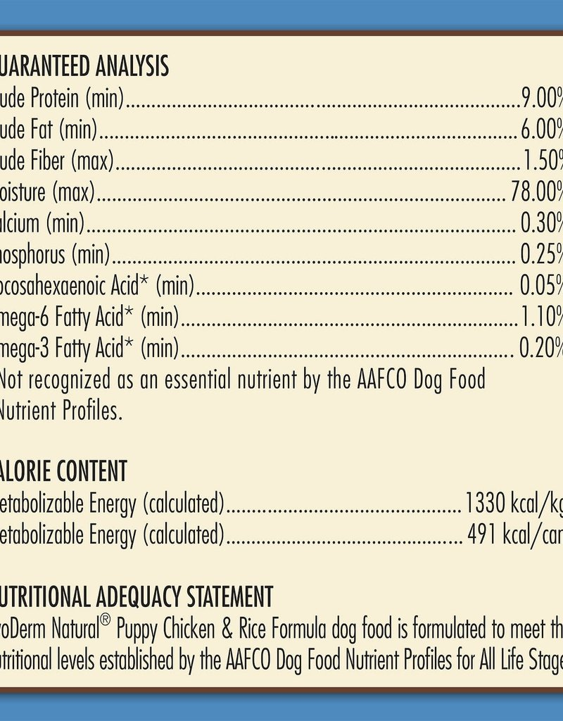 AvoDerm by Breeder's Choice AvoDerm Dog Can Chicken and Rice Puppy 13.2 oz
