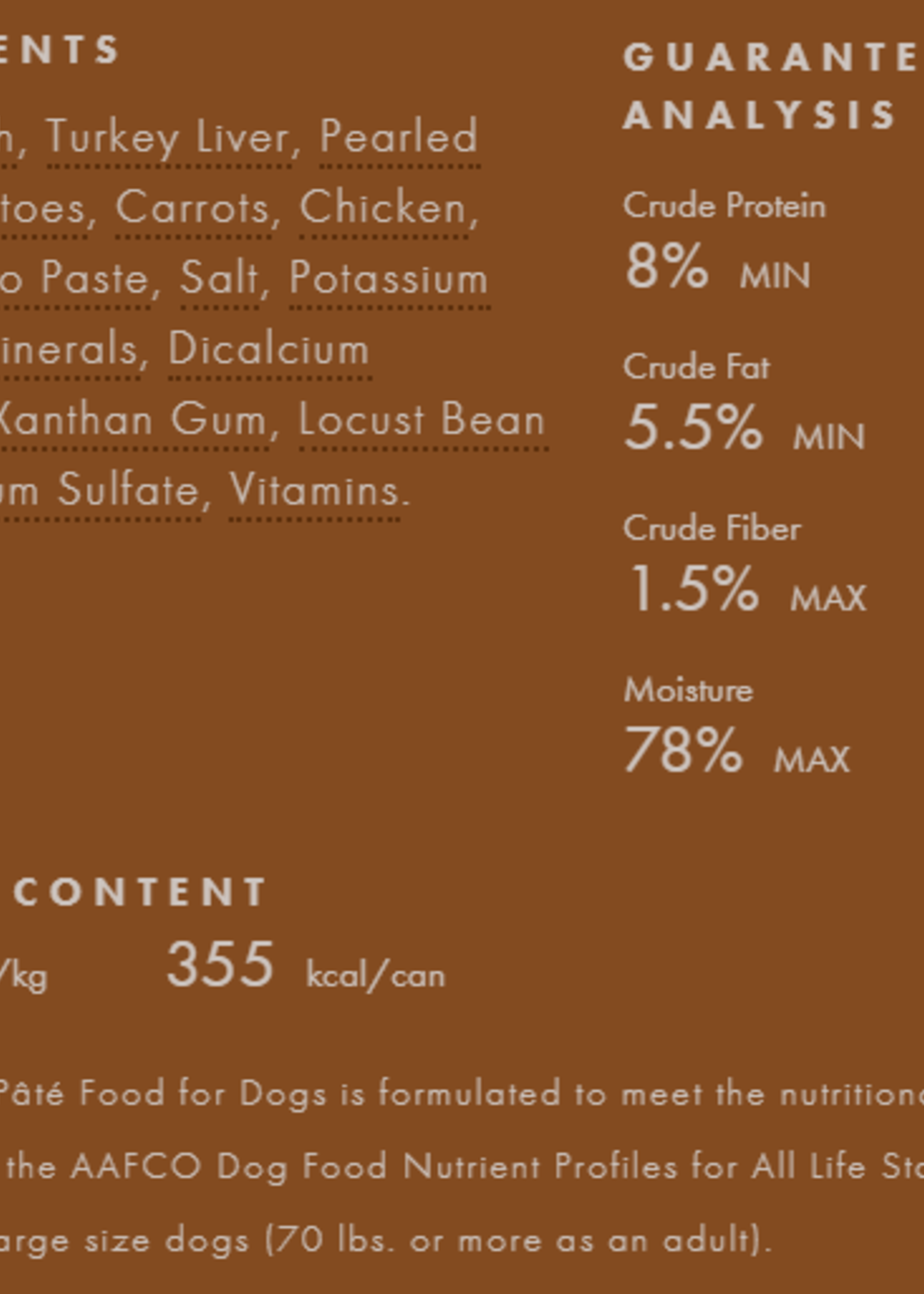 Fromm Family Foods, LLC Fromm Dog Can Pate Turkey 12.2 oz