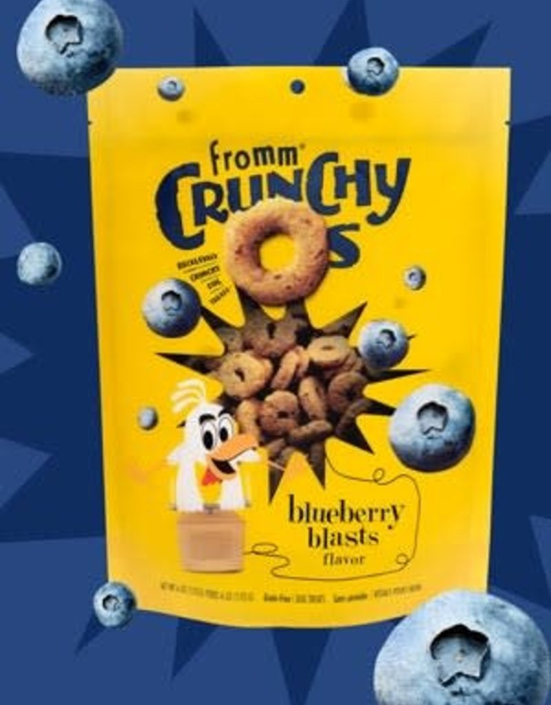 Fromm Family Foods, LLC Fromm Dog Biscuit Crunchy O's Blueberry Blasts 6 oz