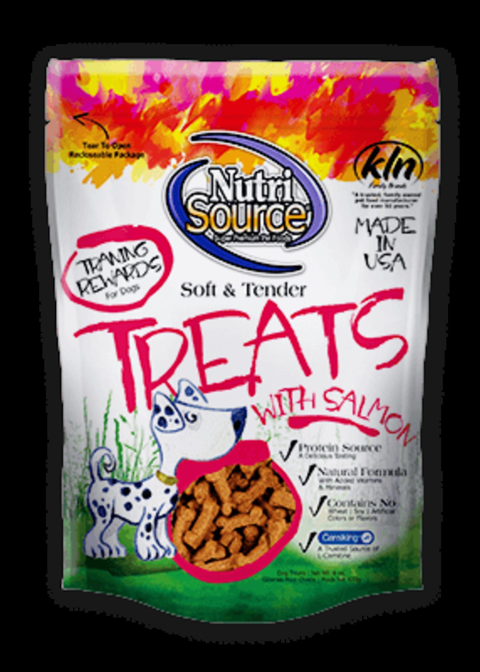 NutriSource NutriSource Dog Treat Soft and Tender Salmon 6 oz