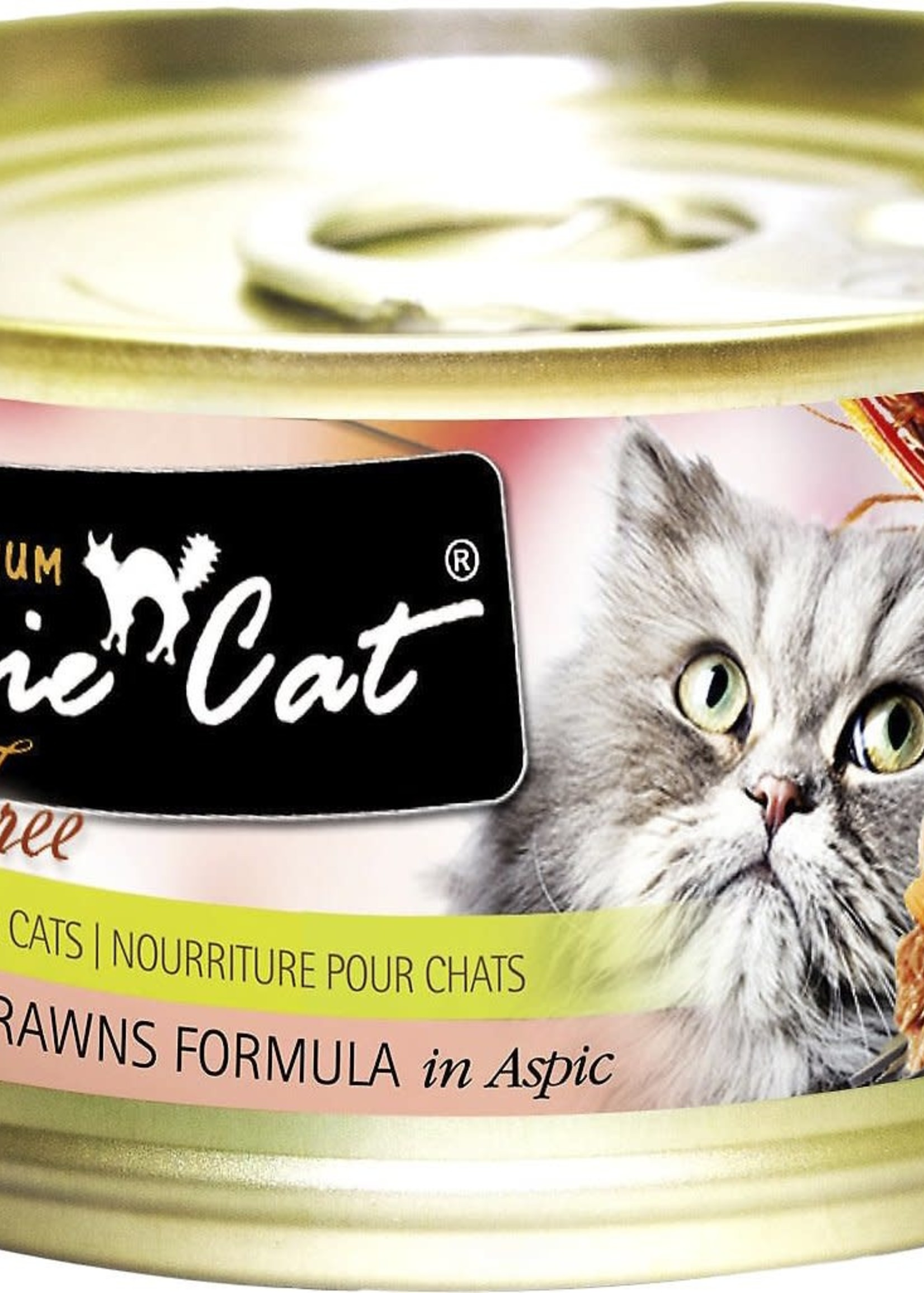 Fussie Cat Fussie Cat Can Premium Tuna with Prawns Fel 2.8 oz