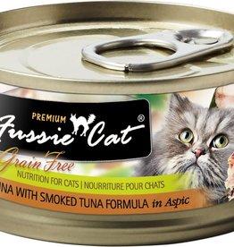 Fussie Cat Fussie Cat Can Premium Tuna with Smoked Tuna 2.8 oz