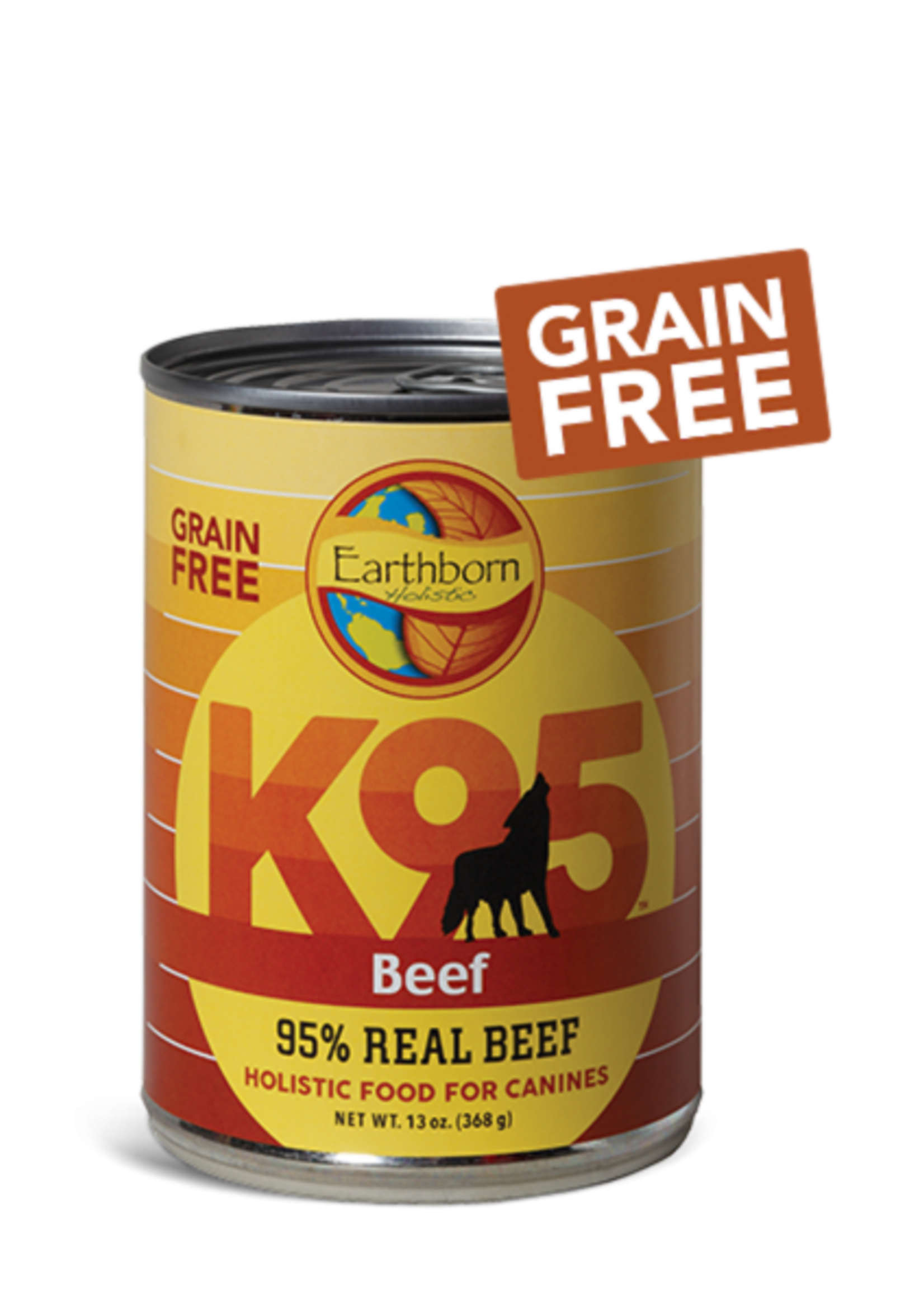 Earthborn by Midwestern Pet Earthborn Dog Can K95 Beef 13 oz
