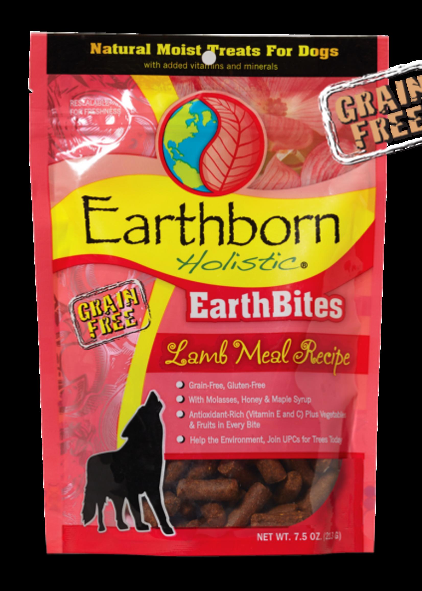 Earthborn by Midwestern Pet Earthborn Dog Treat EarthBites Lamb Flavor 7.5 oz