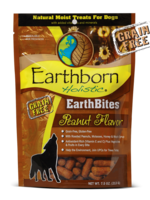 Earthborn by Midwestern Pet Earthborn Dog Treat EarthBites Peanut Flavor 7.5oz
